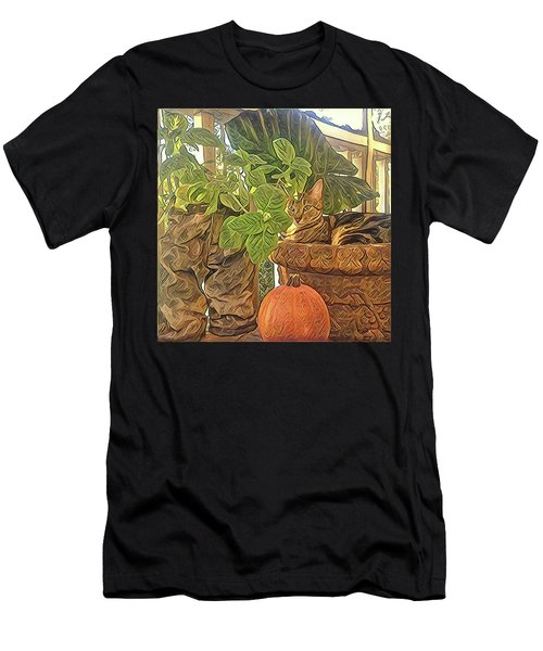 Precious Pumpkin Men's T-Shirt (Athletic Fit)