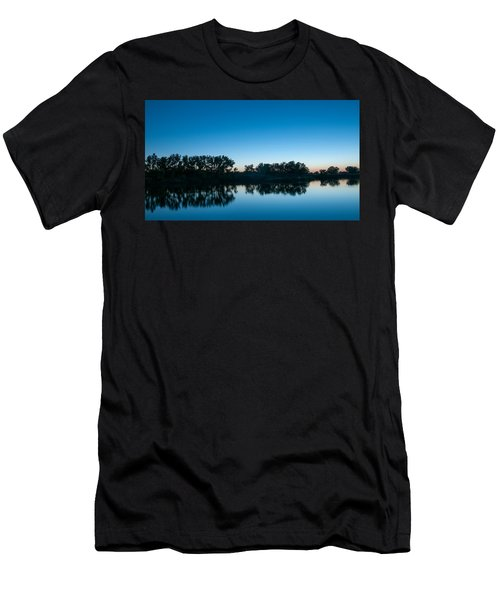 Men's T-Shirt (Athletic Fit) featuring the photograph Predawn At Arapaho Bend by Monte Stevens