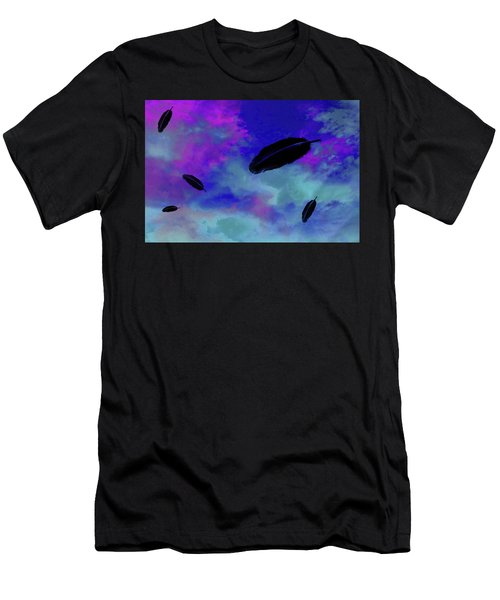 Prescence Of The Gods Men's T-Shirt (Athletic Fit)