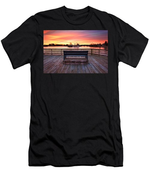 Prescott Pier Men's T-Shirt (Athletic Fit)