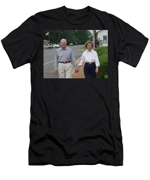 President And Mrs. Jimmy Carter Men's T-Shirt (Athletic Fit)