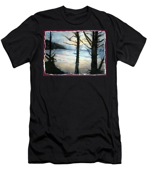 Presque Isle Dawn Men's T-Shirt (Athletic Fit)