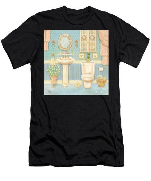 Pretty Bathrooms Iv Men's T-Shirt (Athletic Fit)