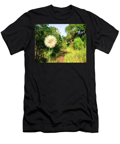 Pretty Dandelion In The Atlantic Forest Men's T-Shirt (Athletic Fit)