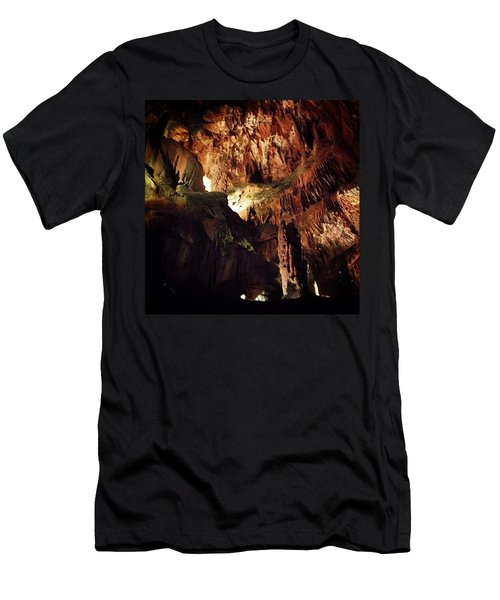 Pretty Impressive Cave Systems Found In Men's T-Shirt (Athletic Fit)