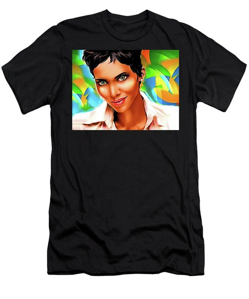 Pretty Lady Men's T-Shirt (Athletic Fit)