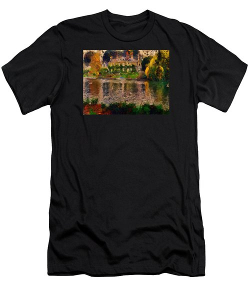 Pretty On The River Men's T-Shirt (Athletic Fit)