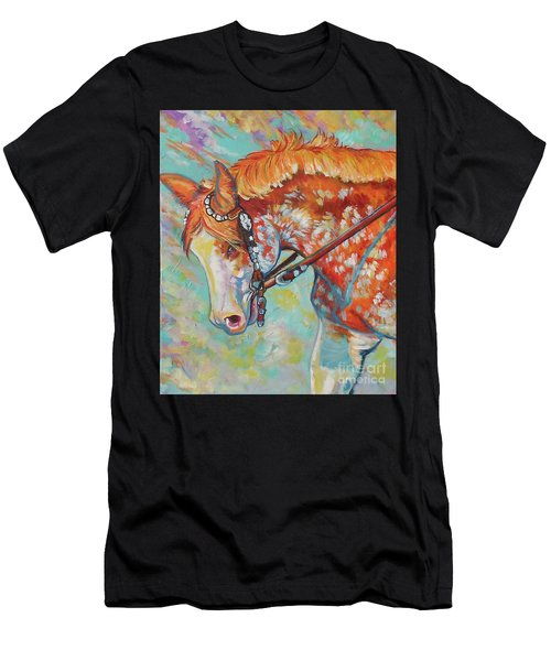 Pretty Paint Men's T-Shirt (Athletic Fit)