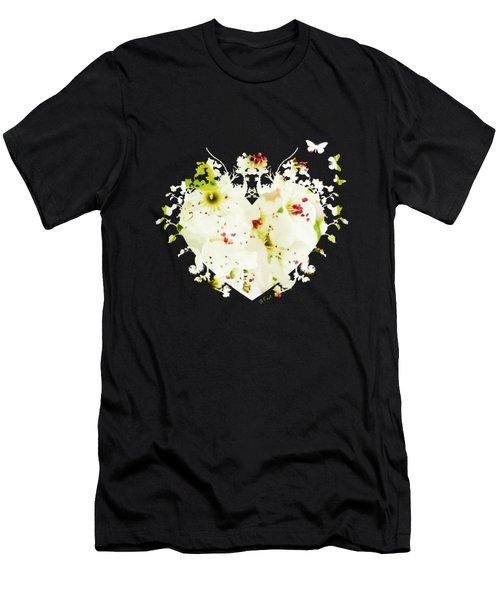 Pretty Pear Petals Men's T-Shirt (Athletic Fit)