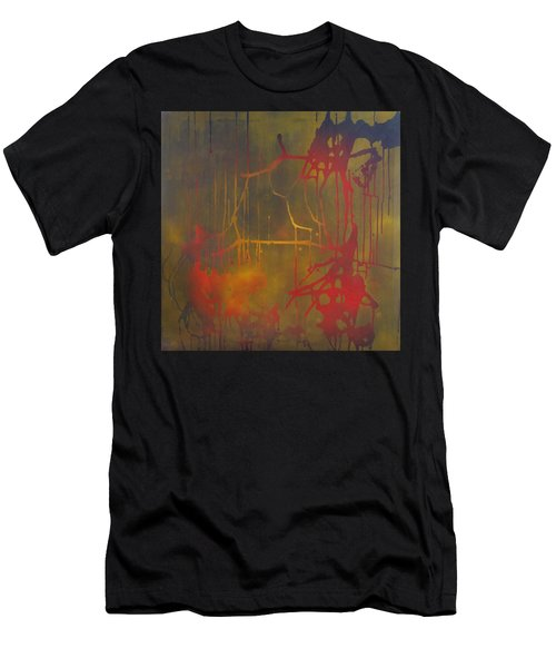 Pretty Violence On A Screen Door Men's T-Shirt (Athletic Fit)