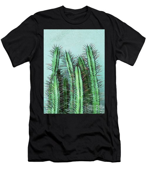 Prick Cactus Men's T-Shirt (Athletic Fit)