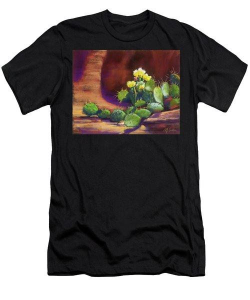 Pricklies On A Ledge Men's T-Shirt (Athletic Fit)