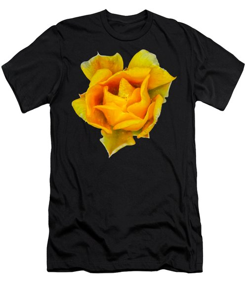 Prickly Pear Flower H11 Men's T-Shirt (Athletic Fit)