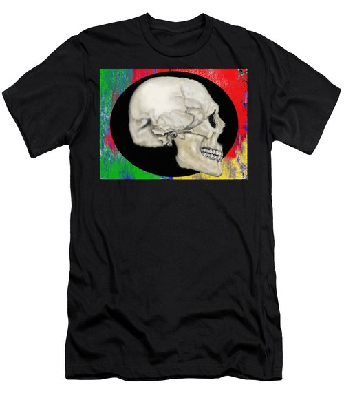 Primary Skull Men's T-Shirt (Athletic Fit)