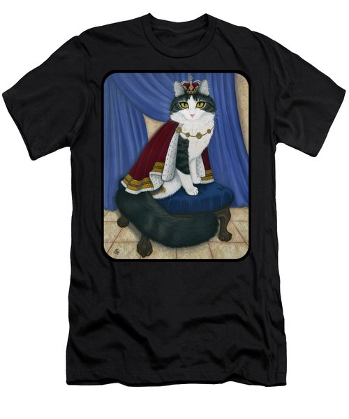 Prince Anakin The Two Legged Cat - Regal Royal Cat Men's T-Shirt (Athletic Fit)