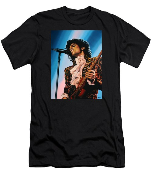 Prince Painting Men's T-Shirt (Athletic Fit)