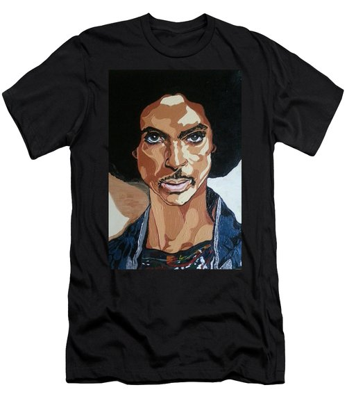 Prince Rogers Nelson Men's T-Shirt (Athletic Fit)