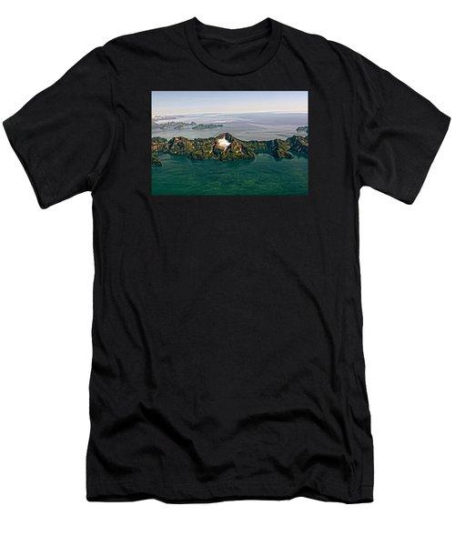 Prince William Sound Alaska Men's T-Shirt (Athletic Fit)