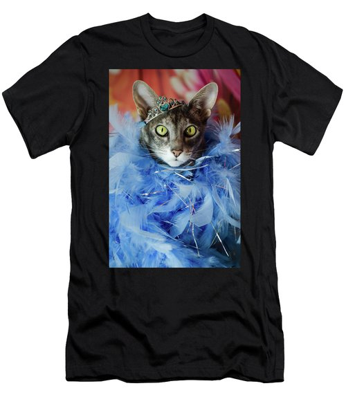 Princess Cat Men's T-Shirt (Athletic Fit)