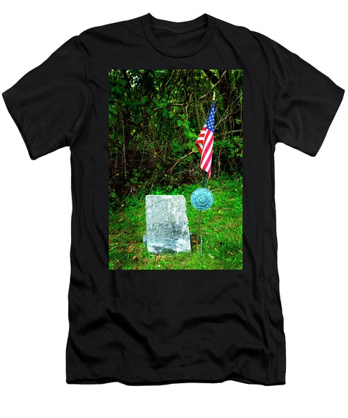 Men's T-Shirt (Slim Fit) featuring the photograph Princess White Feather by Paul W Faust - Impressions of Light