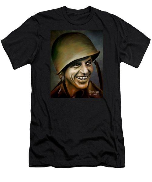 Frank Sinatra 1958 Men's T-Shirt (Athletic Fit)