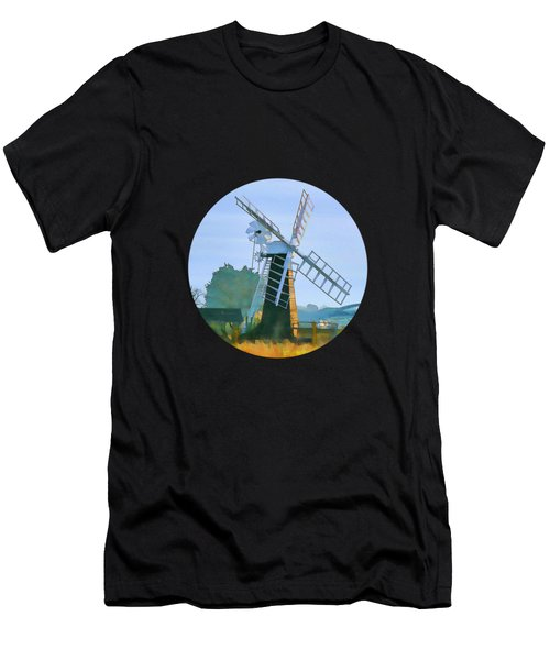 Priory Windmill Men's T-Shirt (Athletic Fit)