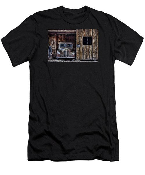 Private Parking Men's T-Shirt (Slim Fit) by Ken Smith