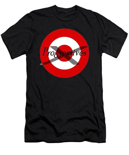 Progressives Men's T-Shirt (Slim Fit) by  Newwwman