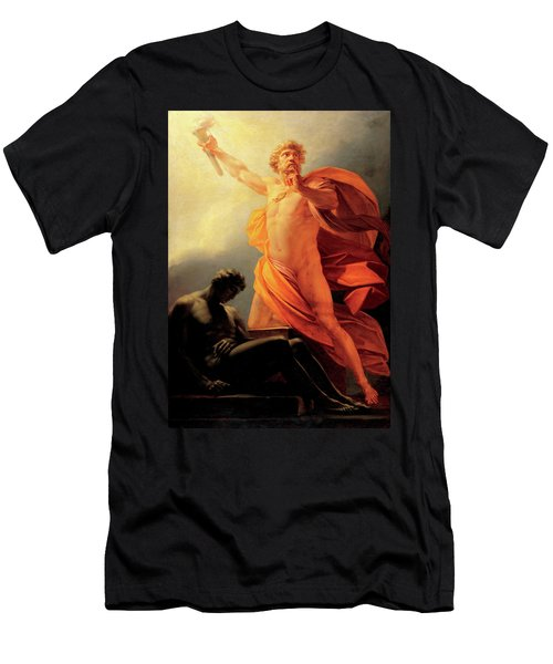 Prometheus Brings Fire To Mankind Men's T-Shirt (Athletic Fit)