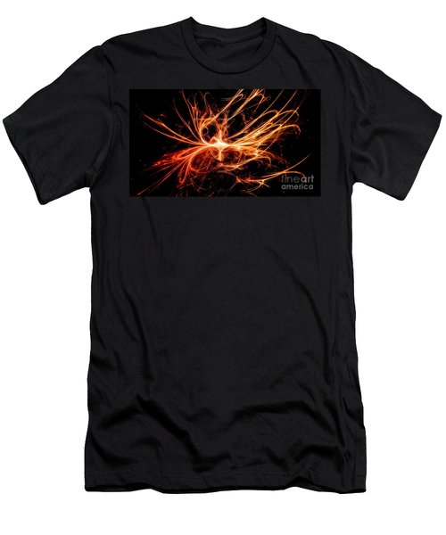 Men's T-Shirt (Athletic Fit) featuring the digital art Prometheus by Michal Dunaj
