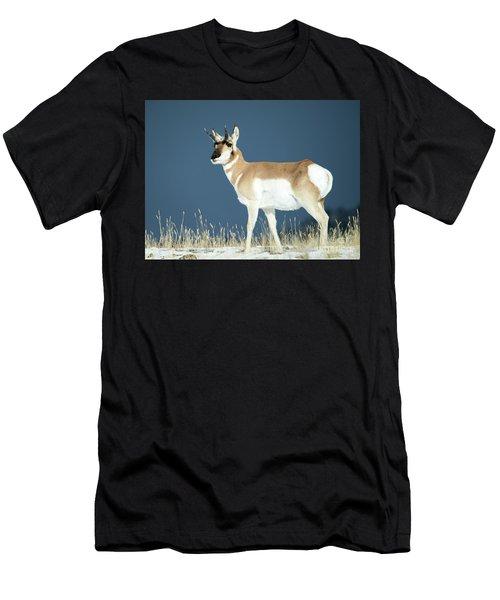 Pronghorn Men's T-Shirt (Athletic Fit)