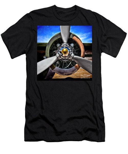 Propeller Art   Men's T-Shirt (Athletic Fit)