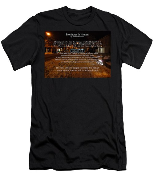 Prostitutes In Heaven Men's T-Shirt (Athletic Fit)
