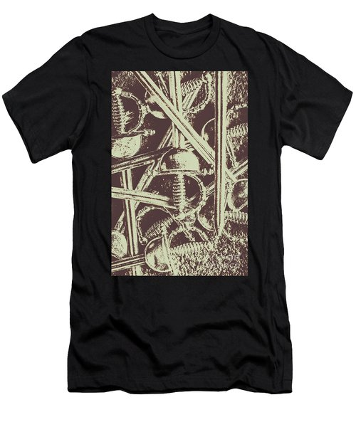 Protecting The Iron Gate Men's T-Shirt (Athletic Fit)