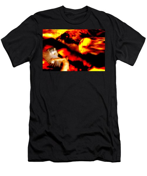 Protection Men's T-Shirt (Slim Fit) by Isabella F Abbie Shores FRSA