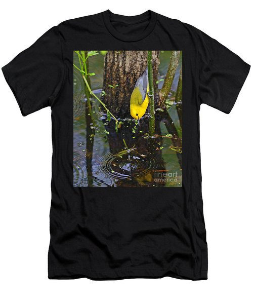 Prothonotary Warbler Men's T-Shirt (Athletic Fit)