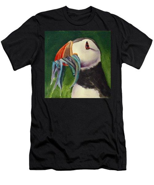 Proud Puffin Men's T-Shirt (Athletic Fit)