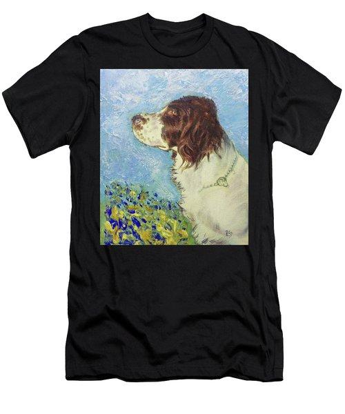 Proud Spaniel Men's T-Shirt (Athletic Fit)