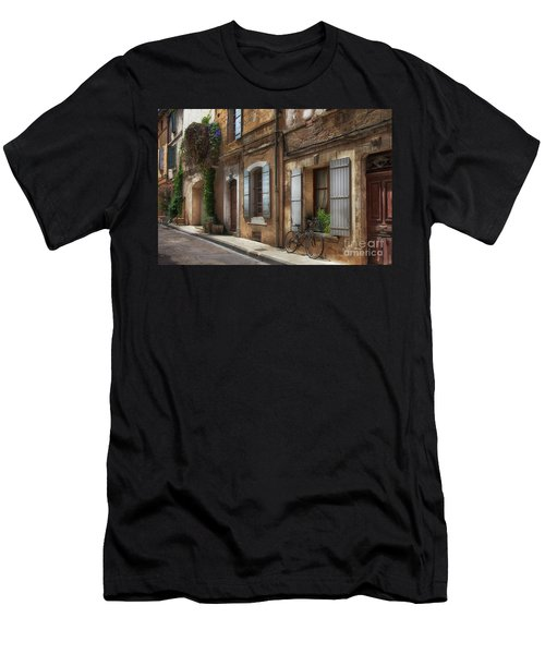 Provence Street Scene Men's T-Shirt (Athletic Fit)