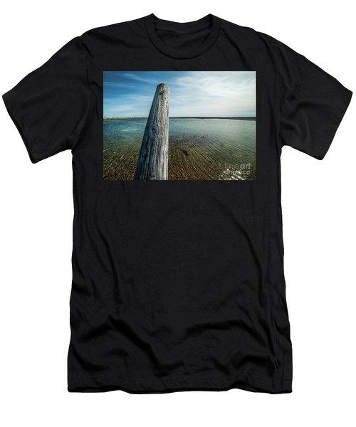 Provincetown Breakwater #2 Men's T-Shirt (Athletic Fit)