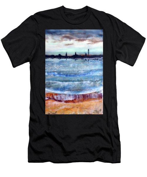 Provincetown Skyline 1 Men's T-Shirt (Athletic Fit)