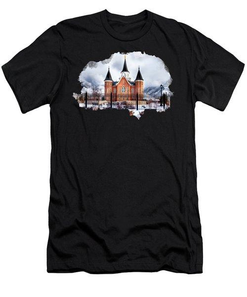 Provo City Center Temple Men's T-Shirt (Athletic Fit)