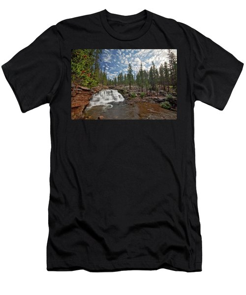 Provo River Falls Men's T-Shirt (Athletic Fit)