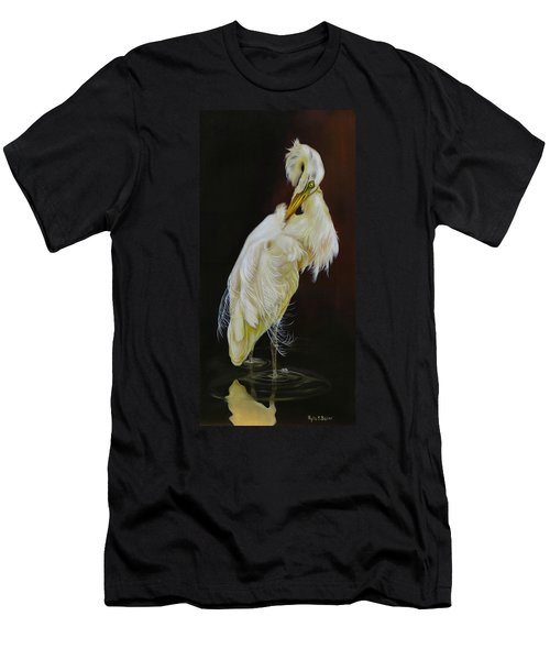 Prudence Men's T-Shirt (Slim Fit) by Phyllis Beiser