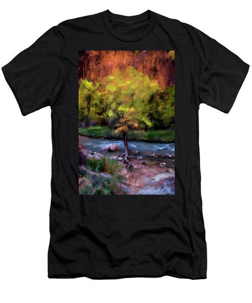 Psalm 1 Men's T-Shirt (Athletic Fit)