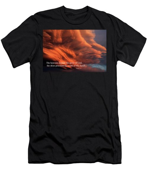 Psalm 19-1 Men's T-Shirt (Athletic Fit)