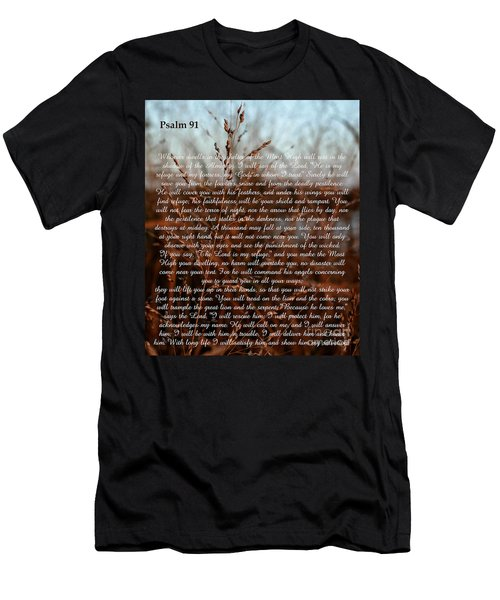 Psalm 91 Men's T-Shirt (Athletic Fit)