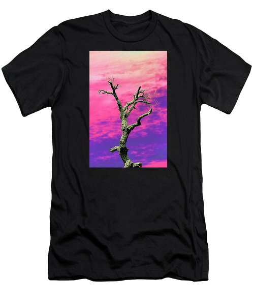 Psychedelic Tree Men's T-Shirt (Athletic Fit)