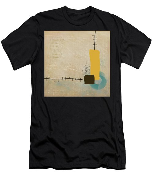 Men's T-Shirt (Athletic Fit) featuring the mixed media Psychoactive Substance by Eduardo Tavares