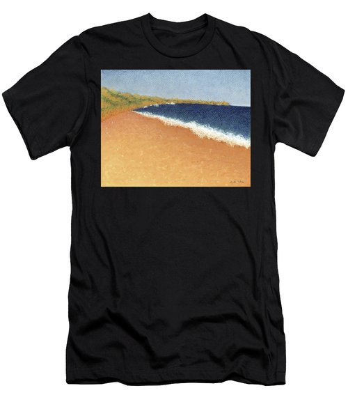 Pt. Reyes Beach Men's T-Shirt (Athletic Fit)